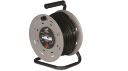 Heavy Duty Cable Extension Reel 13 Amp with Thermal Over Current Trip. 4 Gang Socket 25m Cable without Anti Surge.