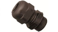 Nylon Metric Cable Glands without Locking Nut for Cable Management. IP68 IP54. Black, Grey, Red & White. Dome Type Gland for Wiring and Cable Protection