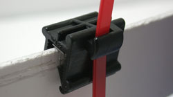 Solar and Automotive Edge Clip for Cable Tie Fixing