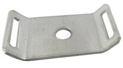 Stainless Steel Cradle / Saddle Mount for Use with Stainless Steel Cable Ties