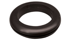Black PVC Wiring Grommet & Blanking Grommets for Panel Holes