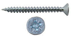 Wood Screw with countersunk head